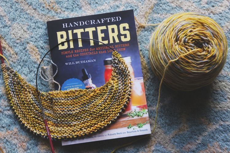 Bitters and yarn along
